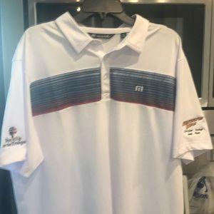 Travis Mathew brand new golf shirt xl